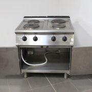 Cucina 4 piastre elettrica